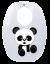 Babador Infantil Panda