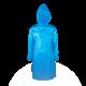 Jaleco Descartável com Capuz TNT 40g-Azul