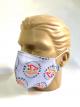 Máscara Cone Por 1 Sorriso Gelo