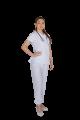 Pijama cirúrgico feminino biosafety branco