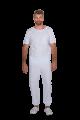 Pijama cirúrgico masculino biosafety branco