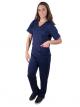 Pijama Cirúrgico Feminino Newprene Azul Marinho